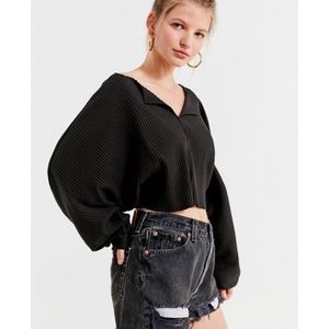 Urban outfitters Riki cropped top